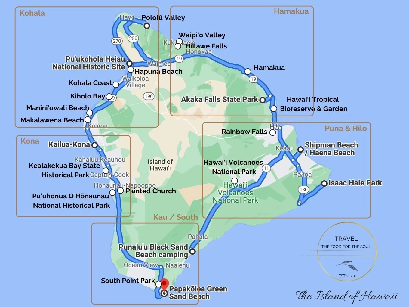 Things To Do On The Island of Hawaii