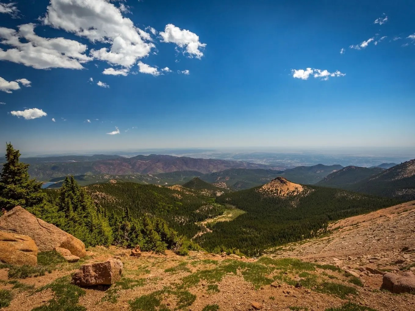 Getting To Pikes Peak
