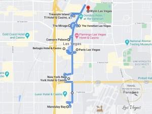 Las Vegas Attractions Map
