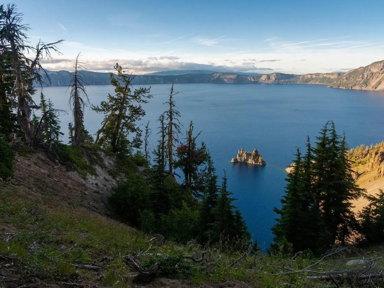 Phantom Ship Overlook   Crater Lake