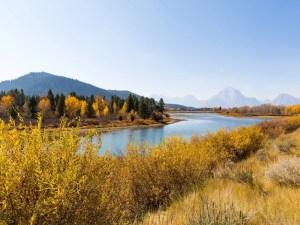 Scenic Drives In Grand Teton National Park