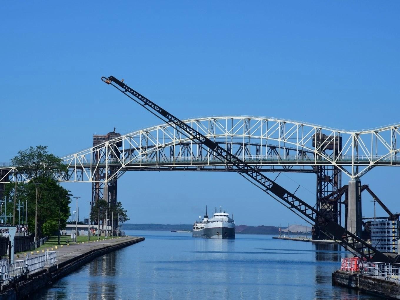 Soo Locks   Upper Peninsula of Michigan