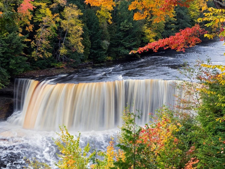 Tahquamenon Falls   Upper Peninsula of Michigan