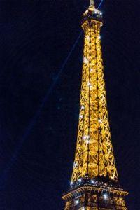 Eiffel Tower Twinkling