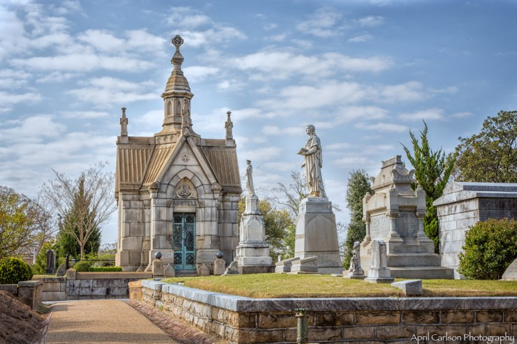 Visiting Historic Oakland Cemetery: Several beautiful tombs