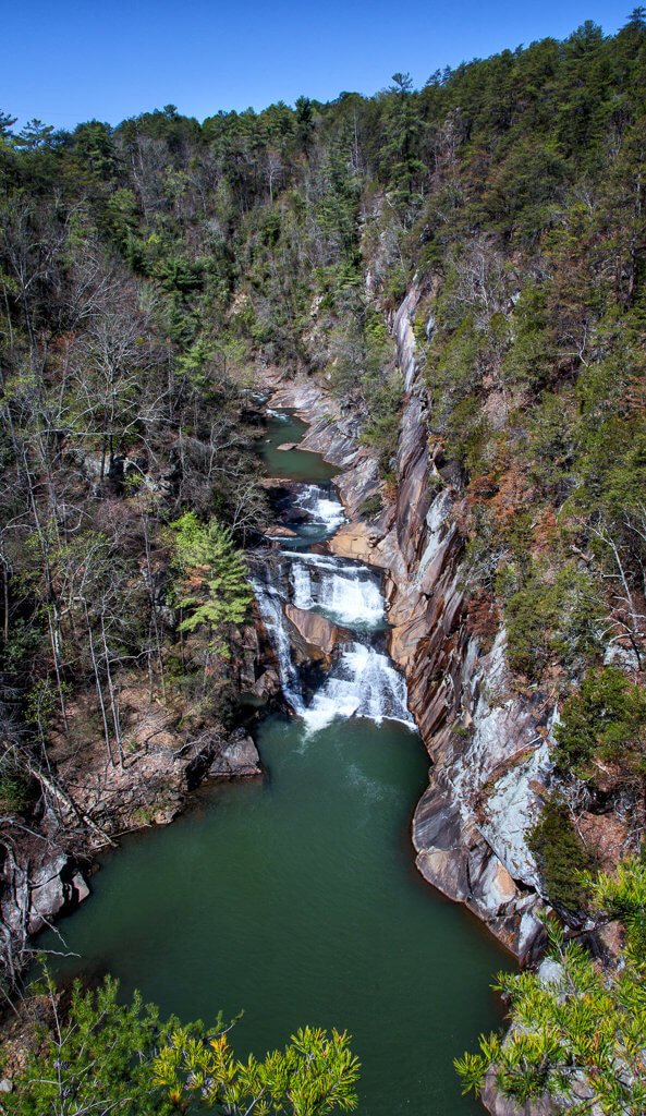 Hiking Tallulah Gorge: Lookout #2
