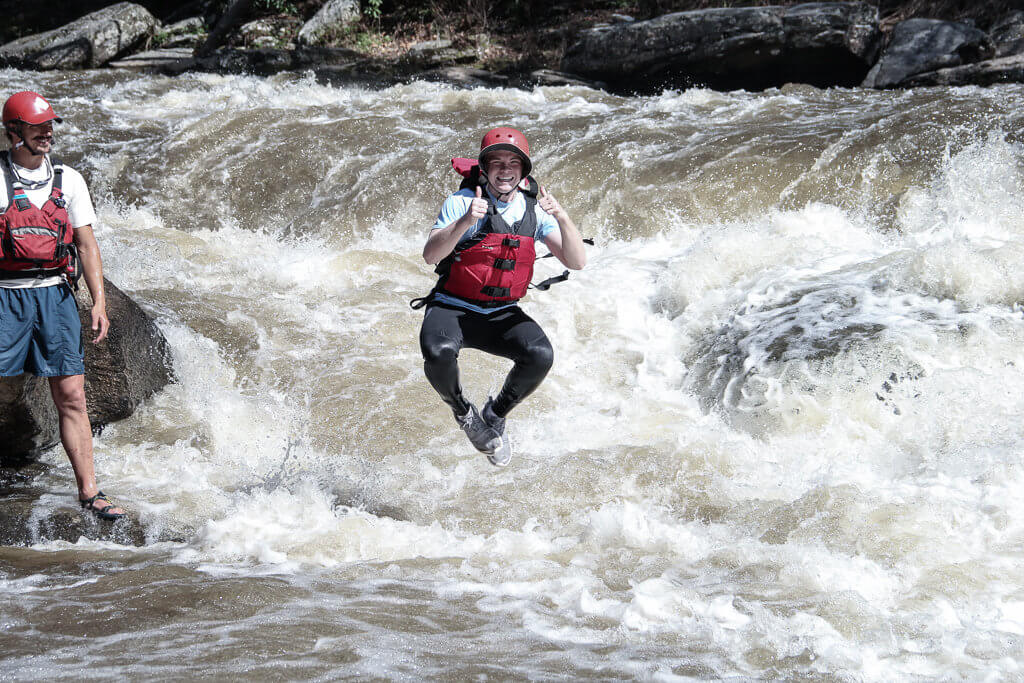 Rafting Chattooga River: Swimming the Rapids