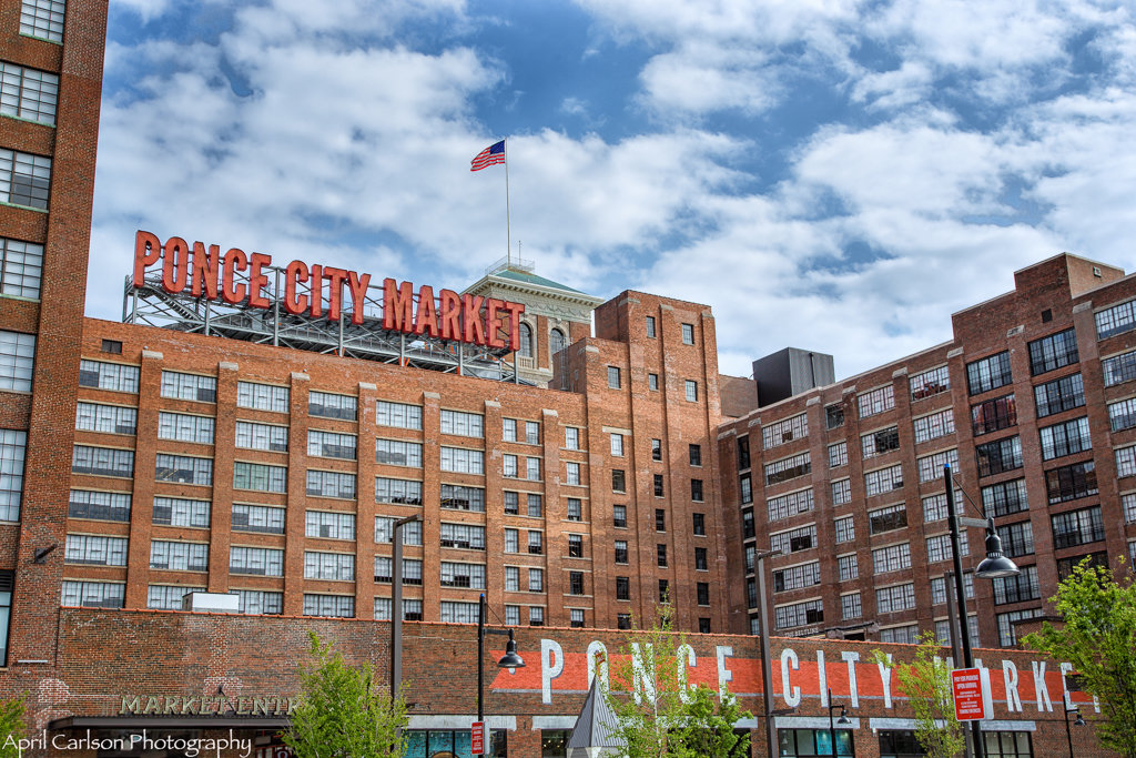 Visiting Ponce City Market: Entrance