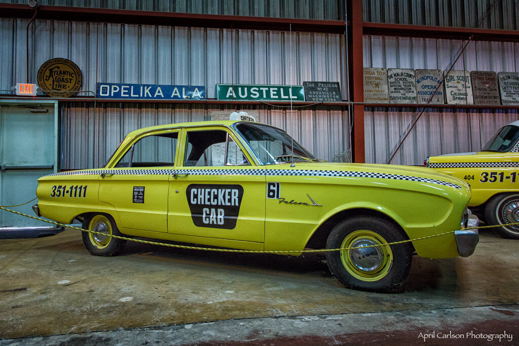 Touring Southeastern Railway Museum: Old Taxi