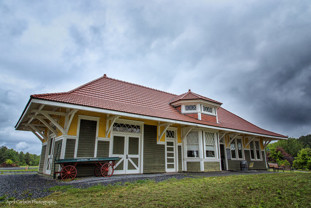 Touring Southeastern Railway Museum: Old Train Station