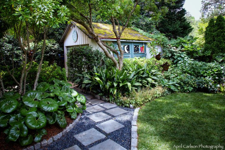 Gardens for Connoisseurs Tour 2017: Garden Shed