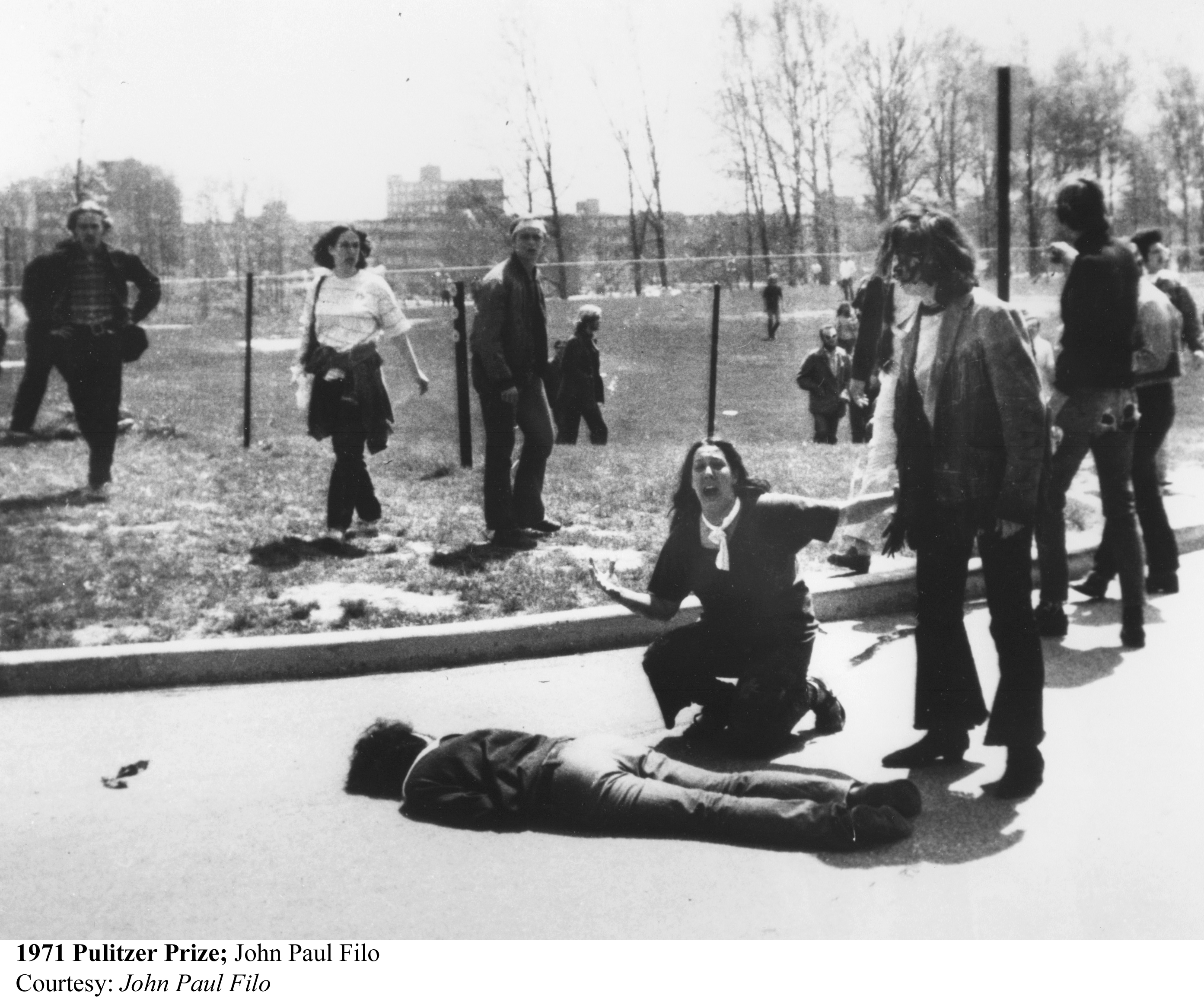 Image result for images of the Kent State Massacre