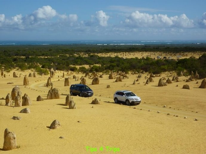 A family holiday to cervantes and the Pinnacles with kids. Exploring the Pinnacles Desert in the Nambung National Park