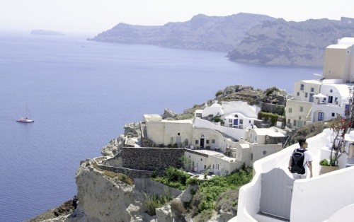 Santorini-View from Village of Oia 3