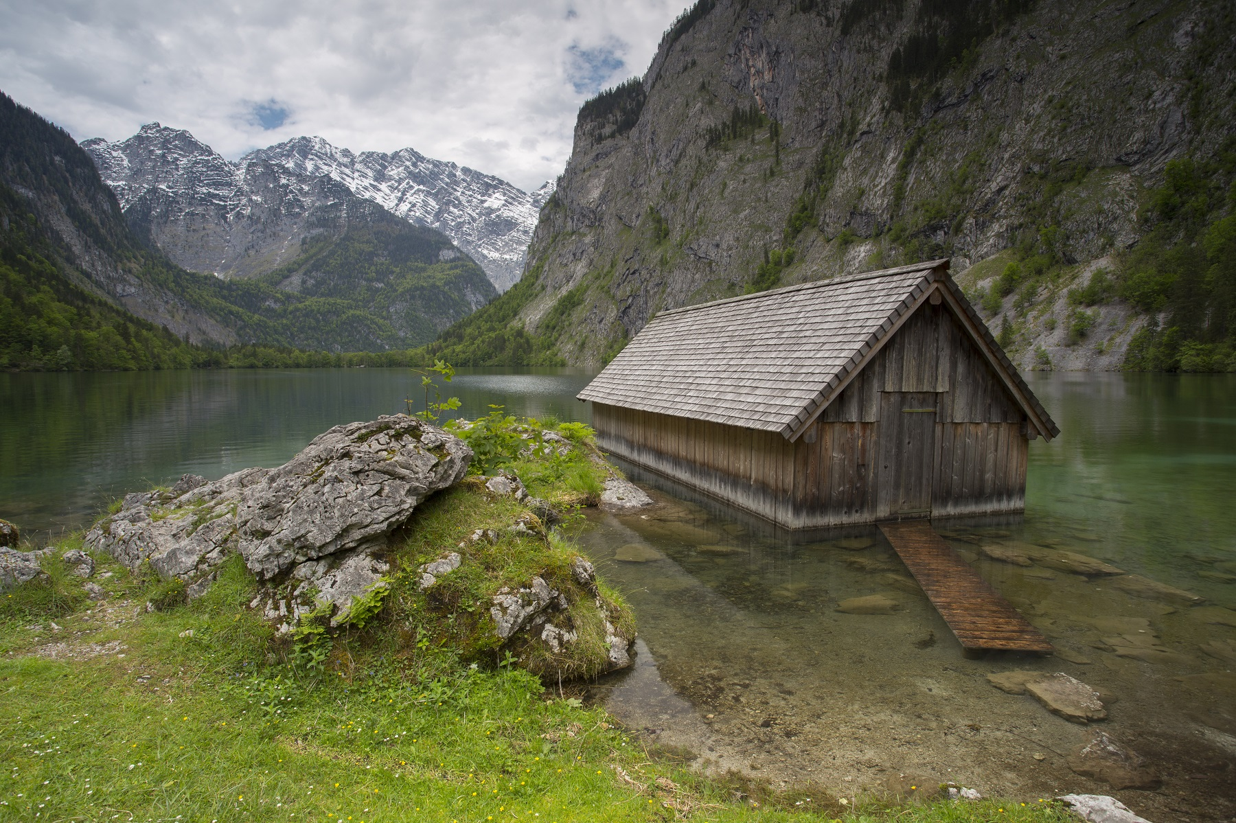 Bavarian Alps Fishing Hut