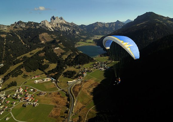 paragliding austria