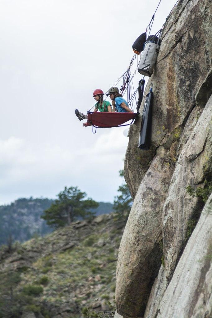 cliff face camping kent mountain