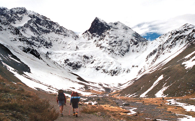 El Morado Glacier