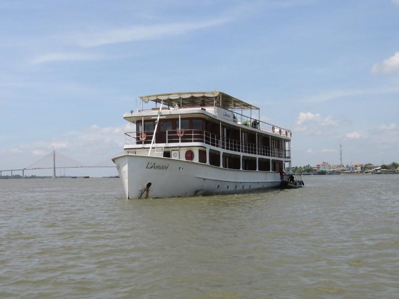 Riverboat Floating mekong river