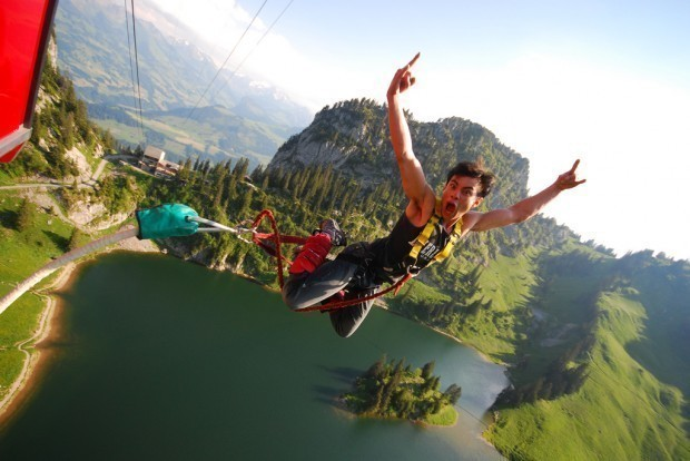 Stockhorn Bungee Jumping