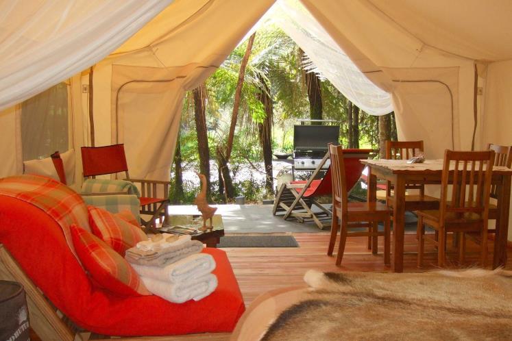 Canopy Camping in Kapiti Island 2