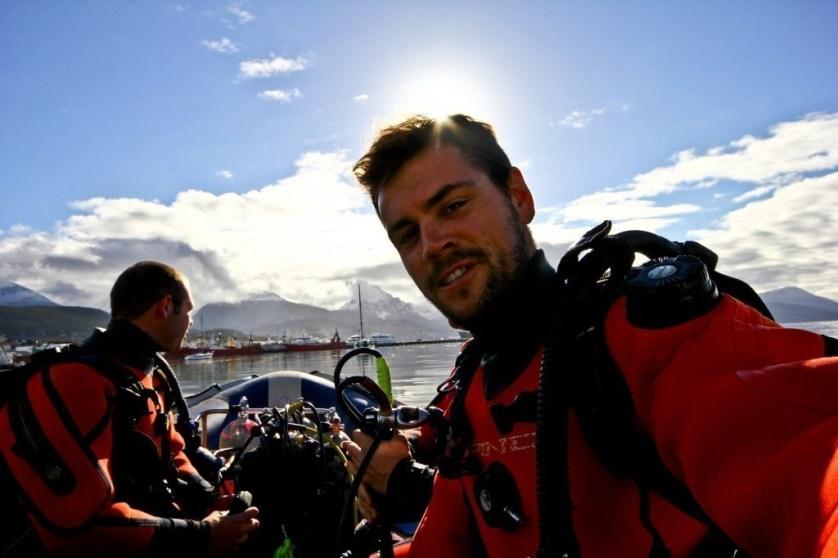 ushuaia scuba diving