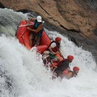 What's so special about white water rafting in Paraguay?