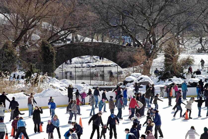 Central Park Ice Skating – Trump Rink