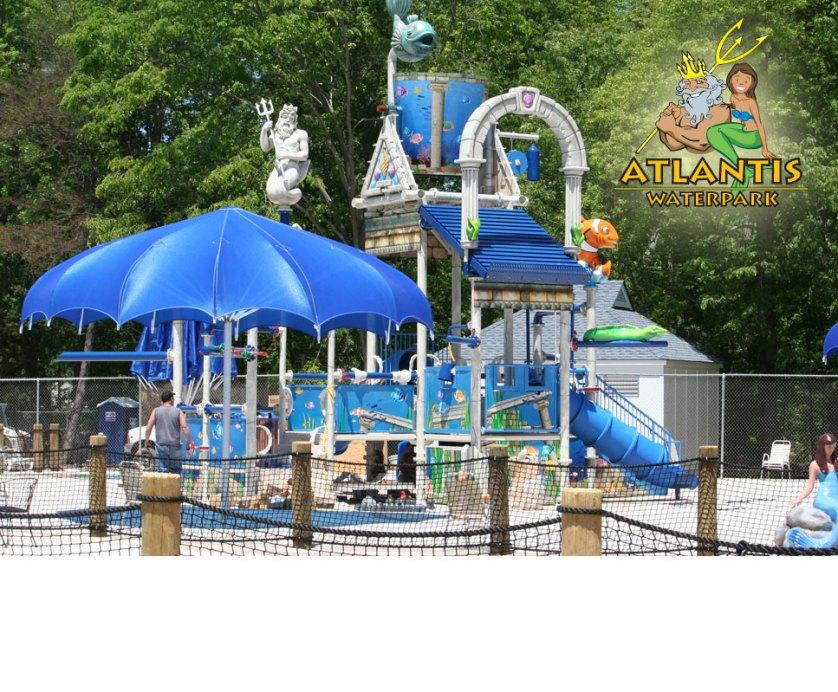 Atlantis Water park in Centreville