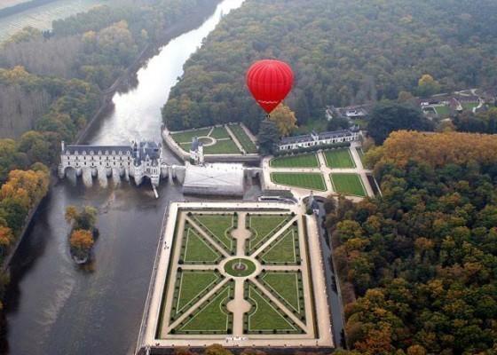 Loire Valley balloon ride