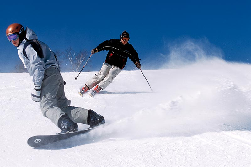 Skiing – Snowboarding
