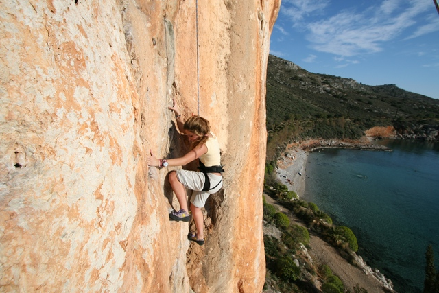 Argolis Rock Climbing