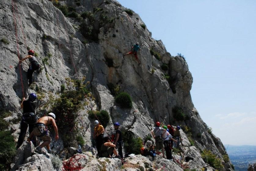 Athens Rock Climbing