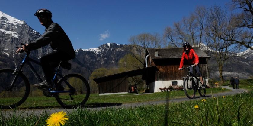 Biking Around Lake Lucerne