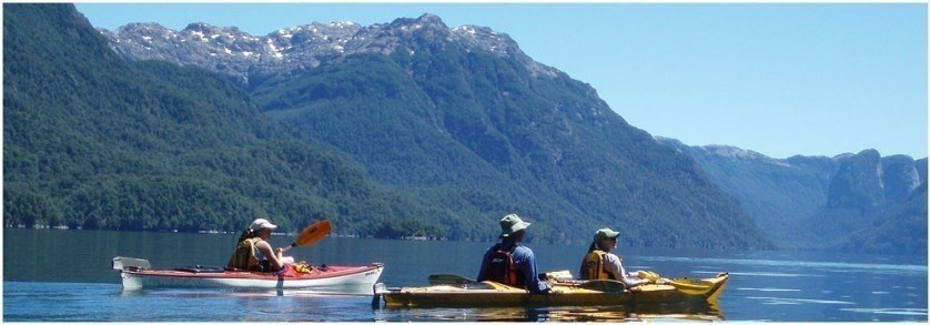 Kayaking To Patagonia