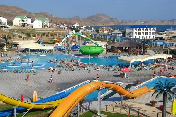 Aquapark Ostrov Sokrovish – Kirillovka