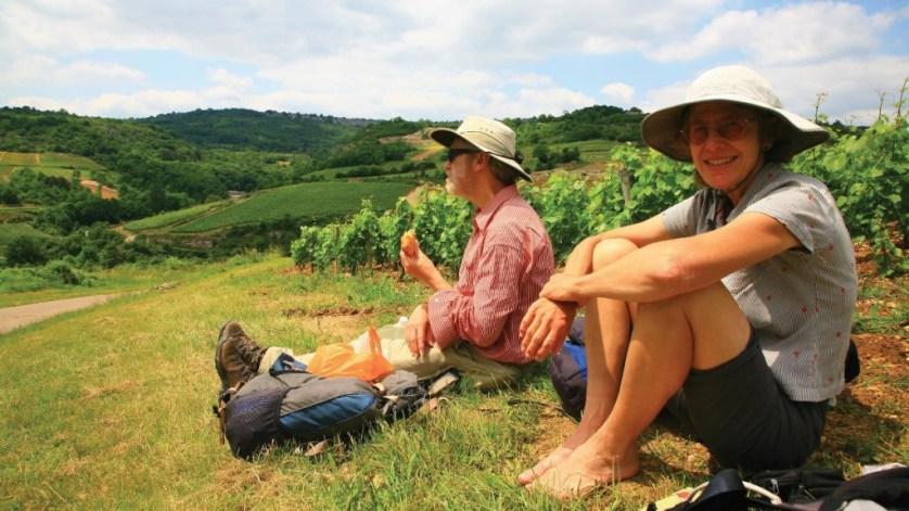 Burgundy Hiking