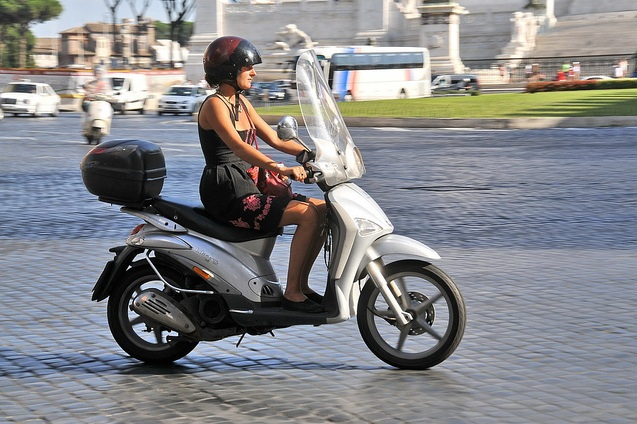 Ride A Scooter In Rome