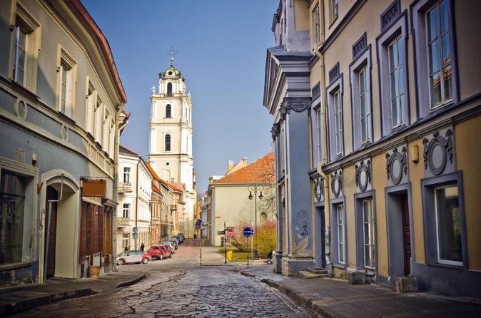Alternative Walking Tour Of Vilnius
