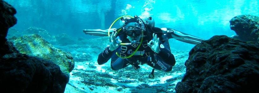 Diving In Lefkada