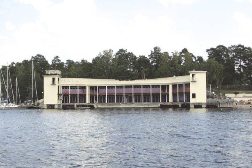 Swimming At Saltsjobadens Friluftsbad