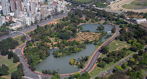 Buenos Aires Palermo park