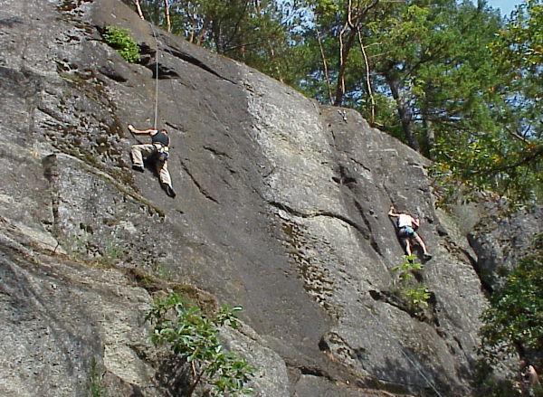 rock climbing vancouver island 2