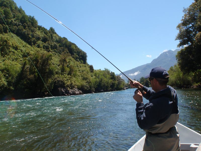 Fishing In Chile