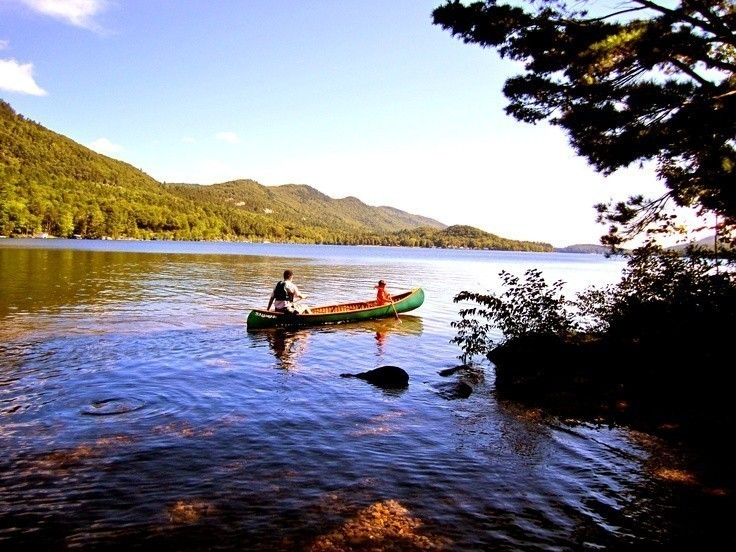 Canoeing On Lake Temagami, Ontario