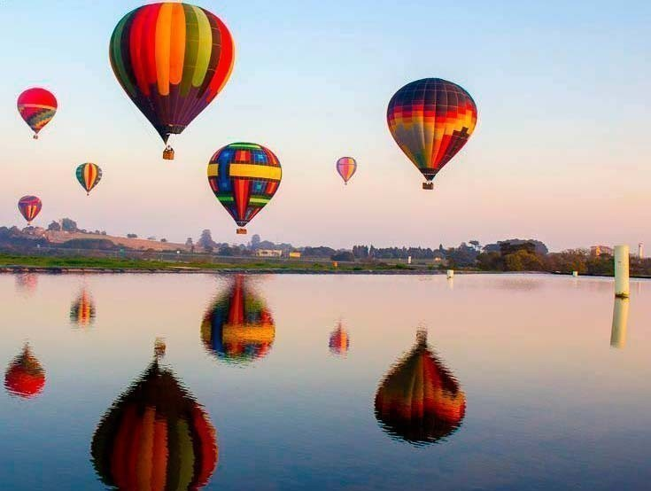 Hot Air Balloon Rides In Brazil