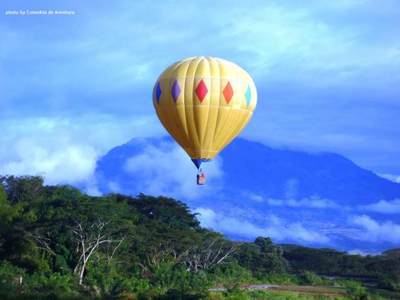 Hot Air Balloon Rides In Colombia