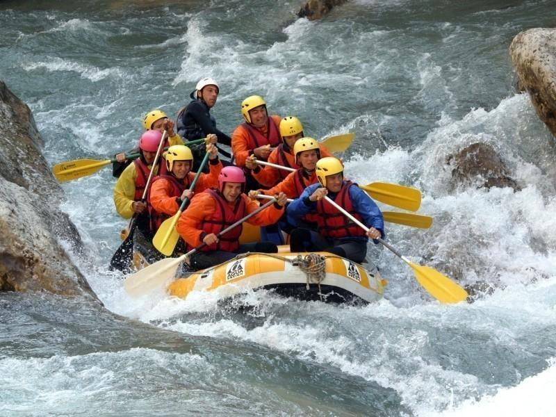 Rafting On The Middle Verdon, Verdon Gorge