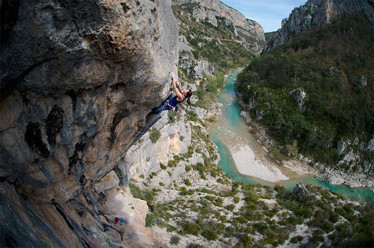 Rock Climbing In French Riviera Mountains