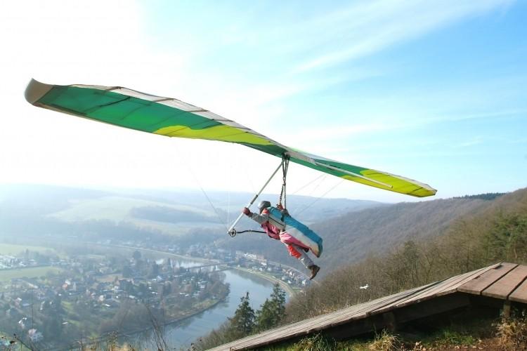 Paragliding In Belgium